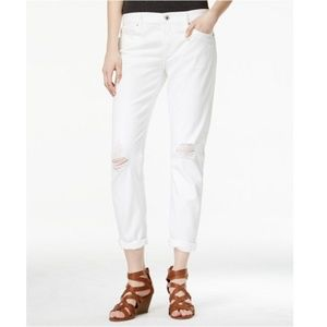 [Lucky Brand] Sienna Slim Boyfriend Jeans White